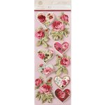 Anna Griffin - Juliet Collection - 3 Dimensional Stickers - Art