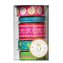 Anna Griffin - Isabelle Collection - Border Stickers, CLEARANCE