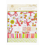 Anna Griffin - Riley Collection - 8 x 8 Designer Transparency Overlay Pack - 6 Sheets, CLEARANCE