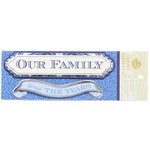Anna Griffin - Willow Collection - Foiled 3 Dimensional Stickers - Our Family Through the Years