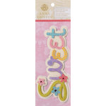 Anna Griffin - Lizzie Collection - 3 Dimensional Stickers - Sweet Title