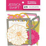Anna Griffin - Blomma Collection - Foiled Die Cut Pieces