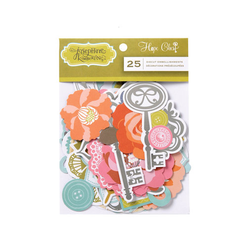 Anna Griffin - Hope Chest Collection - Foiled Die Cut Pieces