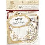 Anna Griffin - Jolie Collection - Die Cut Pieces with Foil Accents - Titles