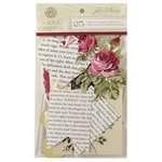 Anna Griffin - Juliet Collection - Die Cut Cardstock Pieces - Art