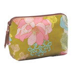 Anna Griffin - Hope Chest Collection - Cosmetic Pouch - Floral