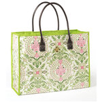 Anna Griffin - Isabelle Collection - Fabric Tote Bag - Pink Medallion, CLEARANCE