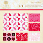 Anna Griffin - Valentina Collection - 12 x 12 Cardstock Pack