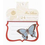 Anna Griffin - Flora Collection - Journal Tags, CLEARANCE