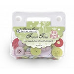 Autumn Leaves - French Twist Collection by Rhonna Farrer - Mini - Bag O Buttons, CLEARANCE