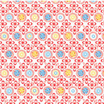 Autumn Leaves - Mod - Primary Collection - Patterned Paper - Daisy Field, CLEARANCE