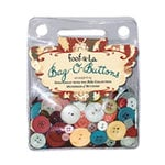Autumn Leaves - Foofla - Bella Collection - Bag O Buttons