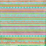Autumn Leaves - French Twist Collection by Rhonna Farrer - Patterned Paper -Le Stripe, BRAND NEW