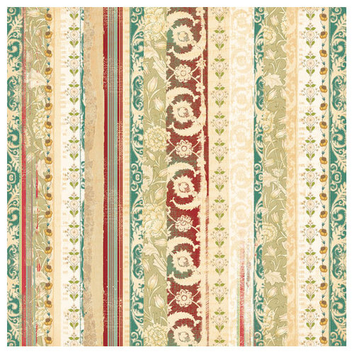 Autumn Leaves - Foofala - Bella Collection - Patterned Paper - Contessa