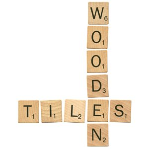 Digital Alphabet (Download) - Wooden Tiles