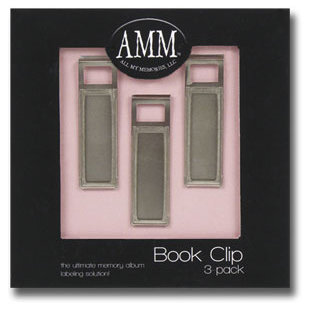 All My Memories - Book Clips - Three Pack, CLEARANCE