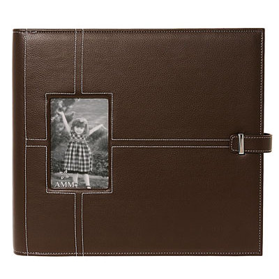 All My Memories - Imaginisce - Urban Chic 12 x 12 Albums - Chocolate Brown