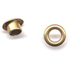 "American Tag - Lost Art Treasures 3/16"""""""""""""""" Eyelets - Brass, CLEARANCE"