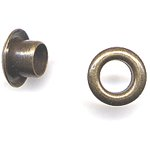 "American Tag - Lost Art Treasures 3/16"" Eyelets - Antique Brass"