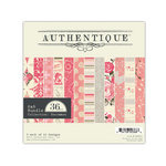 Authentique Paper - Uncommon Collection - 6 x 6 Paper Bundle