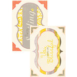 Authentique Paper - Blissful Collection - Headlines - Die Cut Cardstock Titles 1