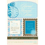 Authentique Paper - Journey Collection - Die Cut Cardstock Pieces - Excerpts