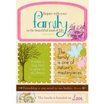 Authentique Paper - Splendid Collection - Die Cut Cardstock Pieces - Excerpts