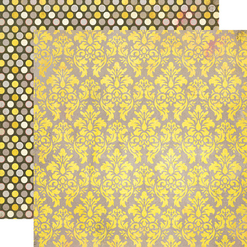 Authentique Paper - Blissful Collection - 12 x 12 Double Sided Paper - Felicity