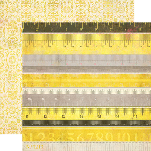 Authentique Paper - Blissful Collection - 12 x 12 Double Sided Paper - Prosperity