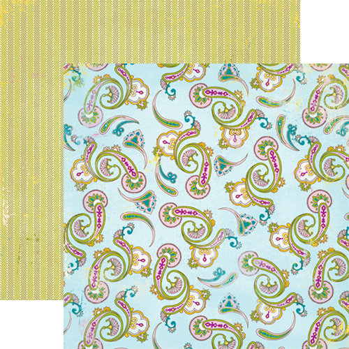 Authentique Paper - Splendid Collection - 12 x 12 Double Sided Paper - Magnificence