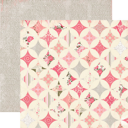 Authentique Paper - Uncommon Collection - 12 x 12 Double Sided Paper - Gifted