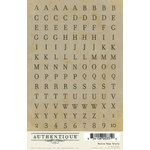 Authentique Paper - Blissful Collection - Cardstock Stickers - Petite Type Circle Alphabet
