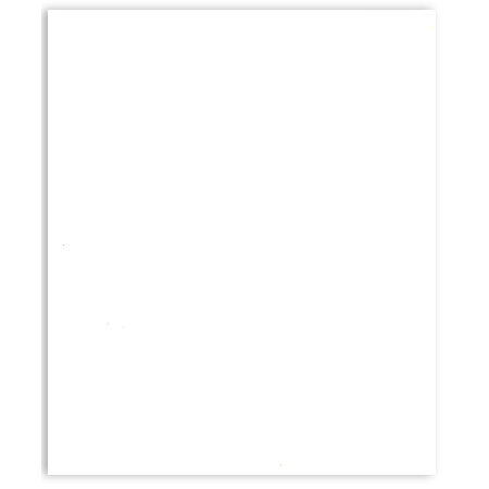 Bazzill - 8.5 x 11 Cardstock - Classic Texture - White
