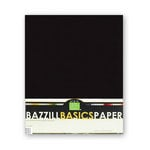 Bazzill - Bulk Cardstock Pack - 25 Sheets - 8.5 x 11 - Black