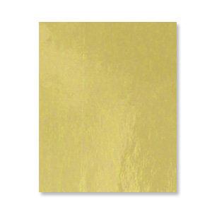 Bazzill - 8.5 x 11 Gold Foil Cardstock