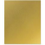 Bazzill - 8.5 x 11 Metallic Cardstock - Gold