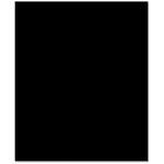 Bazzill - 8.5 x 11 Cardstock - Classic Texture - Ebony