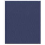 Bazzill Basics - 8.5 x 11 Cardstock - Classic Texture - Indigo