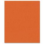 Bazzill Basics - Prismatics - 8.5 x 11 Cardstock - Dimpled Texture - Classic Orange