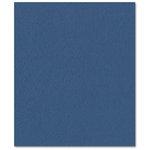 Bazzill Basics - Prismatics - 8.5 x 11 Cardstock - Dimpled Texture - Nautical Blue Dark
