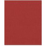 Bazzill Basics - 8.5 x 11 Cardstock - Canvas Texture - Pomegranate