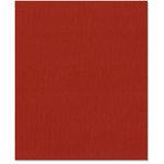 Bazzill Basics - 8.5 x 11 Cardstock - Canvas Texture - Bazzill Red