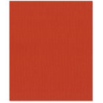 Bazzill Basics - 8.5 x 11 Cardstock - Canvas Texture - Lava