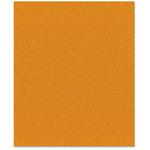 Bazzill Basics - 8.5 x 11 Cardstock - Canvas Texture - Marigold