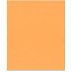 Bazzill Basics - 8.5 x 11 Cardstock - Orange Peel Texture - Creamsicle