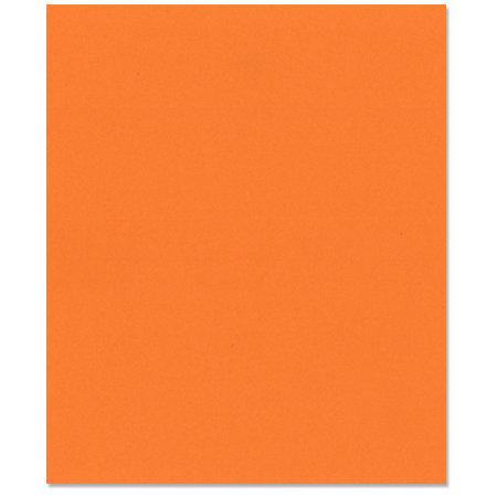 Bazzill Basics - 8.5 x 11 Cardstock - Smooth Texture - Tangerine Blast