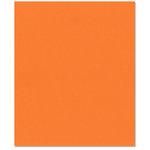 Bazzill - 8.5 x 11 Cardstock - Smooth Texture - Tangerine Blast