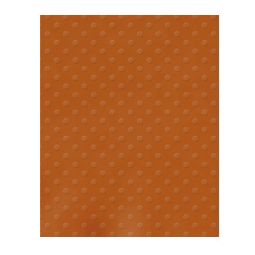 Bazzill Basics - 8.5 x 11 Cardstock - Dotted Swiss Texture - Terra Cotta