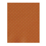 Bazzill - 8.5 x 11 Cardstock - Dotted Swiss Texture - Terra Cotta