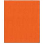 Bazzill Basics - 8.5 x 11 Cardstock - Burlap Texture - Bazzill Orange